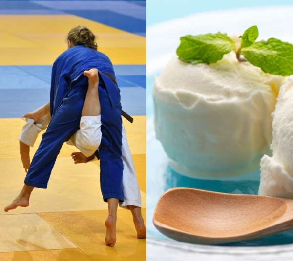 Judo and ice cream