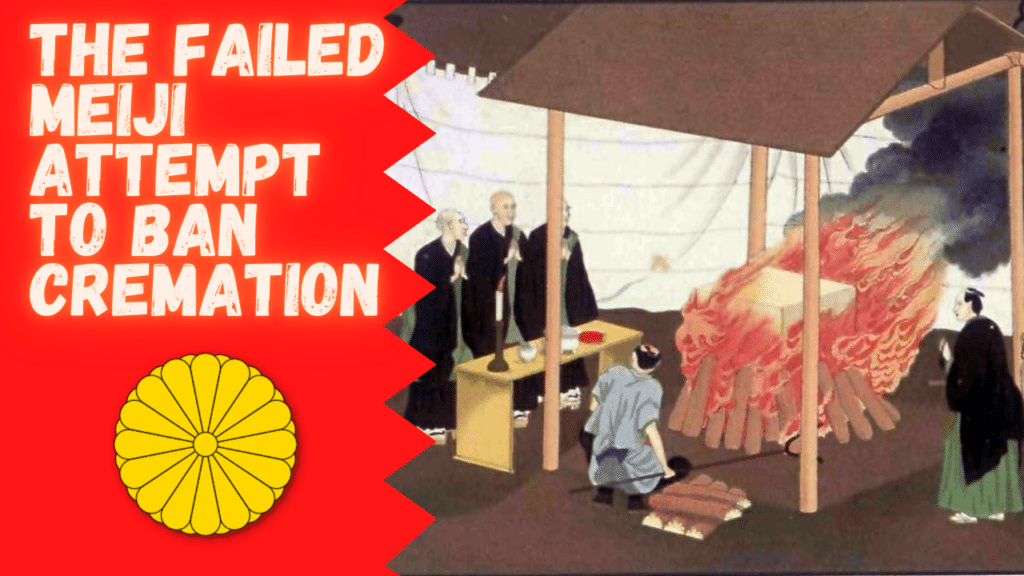 Cover for the failed Meiji attempt to ban cremation